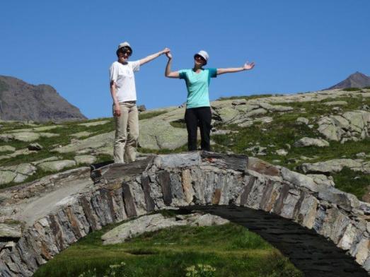 """der Nähe des Gletschers """"les Evettes"""""""