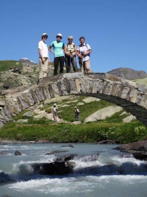 alte römische Brücke in